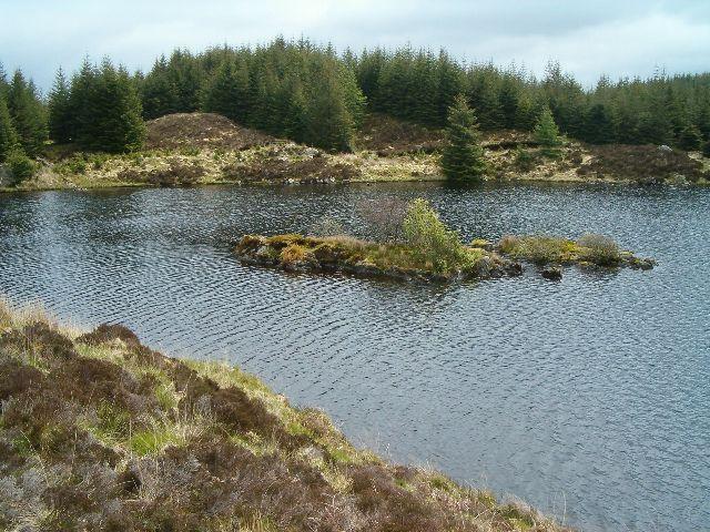 Small island in lochan