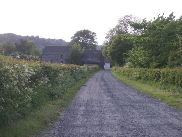 Houses by the Howieton Fishery