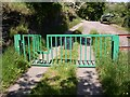 SE0618 : Gate with stile, Crow Wood Lane, Barkisland by Humphrey Bolton