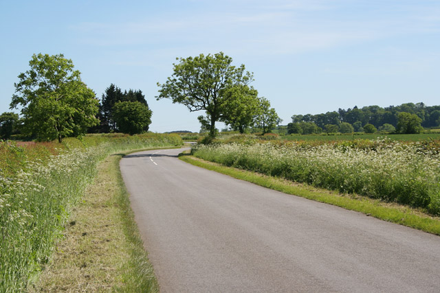 Country road, Lincolnshire