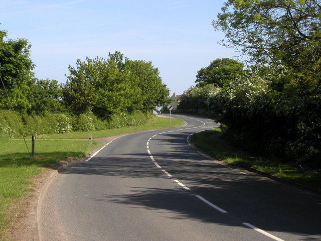 The Welwick to Weeton road