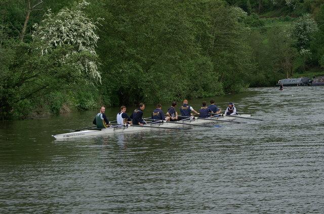River Avon below New Bridge