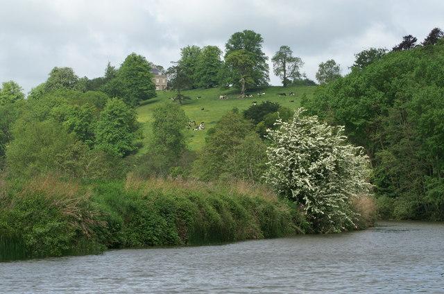 River Avon east of Kelston
