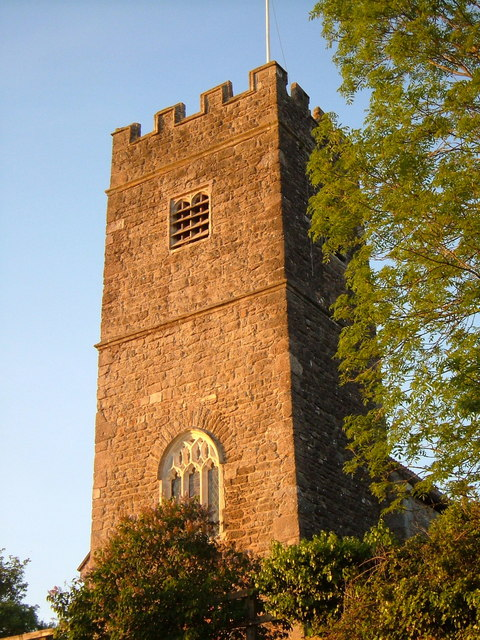 Tower of St Gregory's church, Harpford