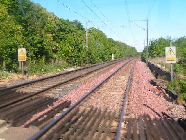 The Main East Coast railway line, North