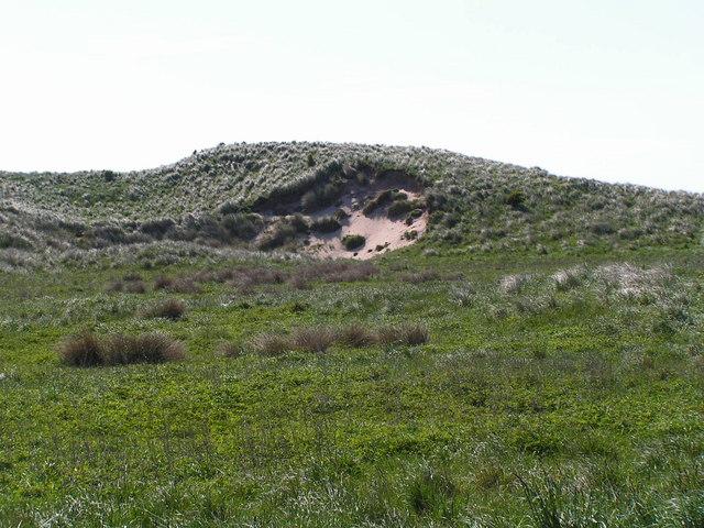 Tughall sand dunes