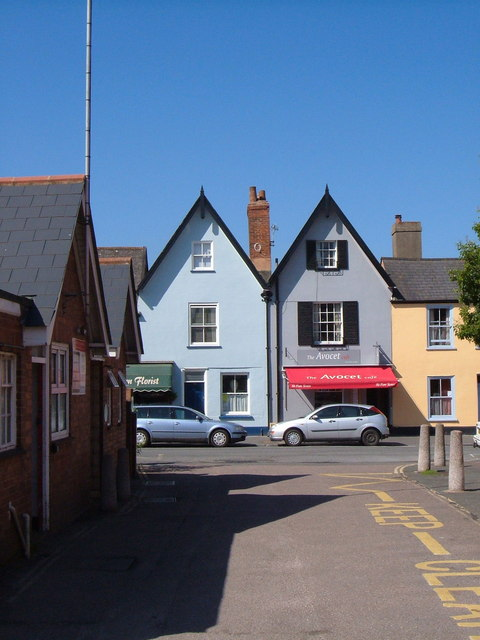 Houses in Fore Street, Topsham