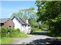 SJ3577 : Heath Farm Cottages, Heath Lane. by Sue Adair