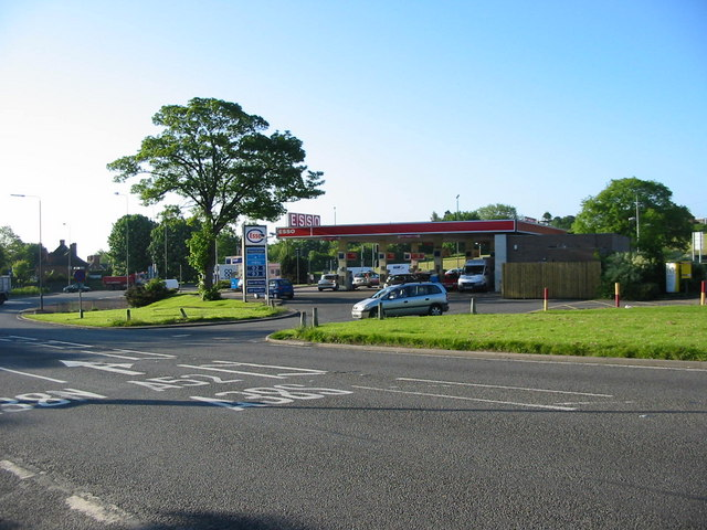Markeaton Island Petrol Station