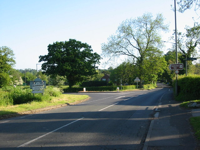 Entrance to Quarndon Village
