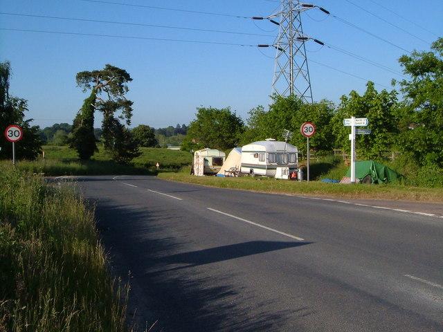 Crossroads near Salston