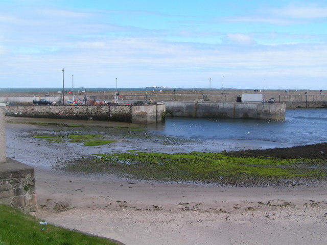 The Outer Harbour, Seahouses
