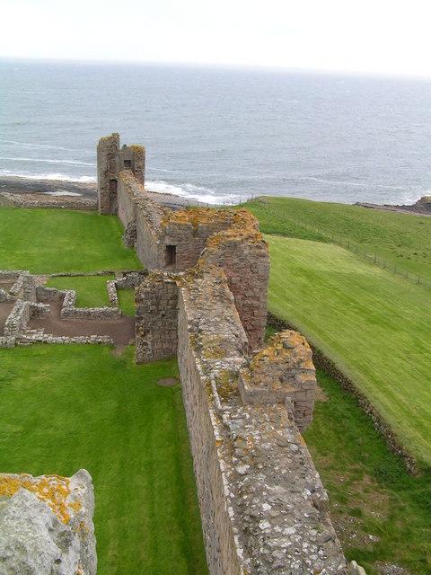The Walls, Dunstanburgh Castle