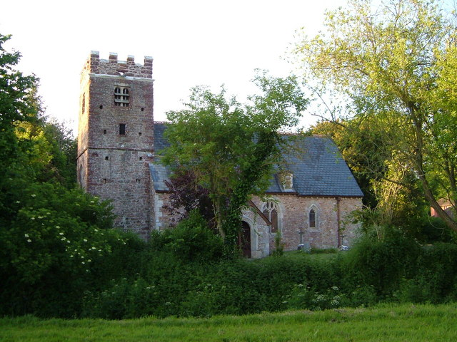 St Gregory's church, Venn Ottery