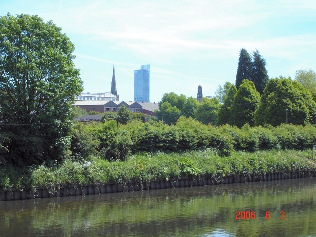 Three landmarks from the River Irwell