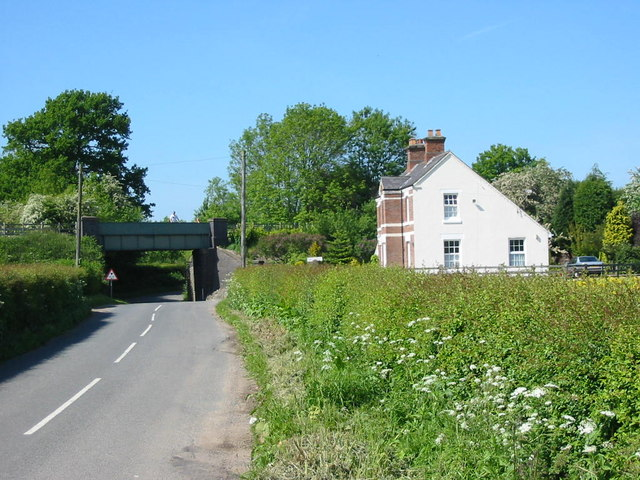 Railway Bridge on Etwall to Mickleover Track