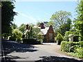 SJ3576 : Fulwood Lodge, Badgersrake Lane by Sue Adair
