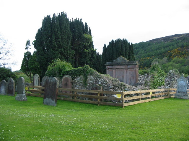 Cemetery near Sandyhills (former church)