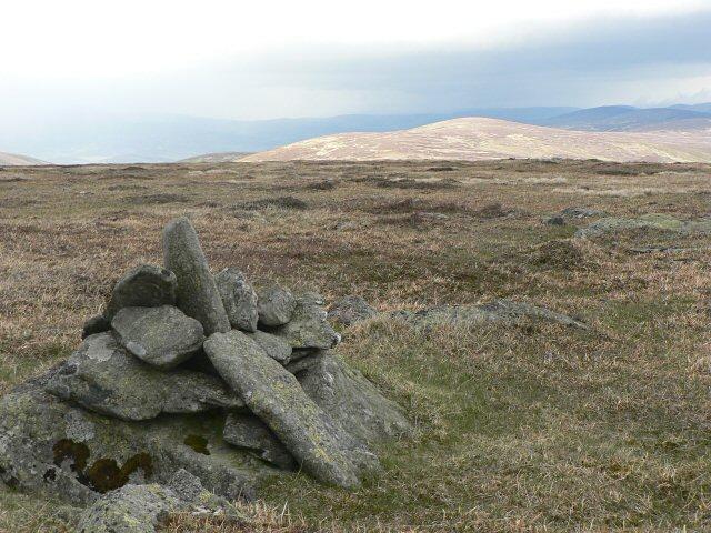 Cairn above Blank Shank