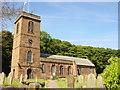 SJ3174 : St Nicholas' Church, Burton by Sue Adair