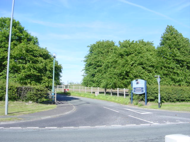Entrance to Leahurst,  Liverpool University's Veterinary Field Station