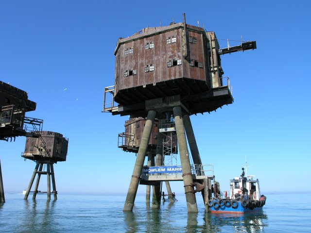 Red Sands Maunsell Tower Restoration