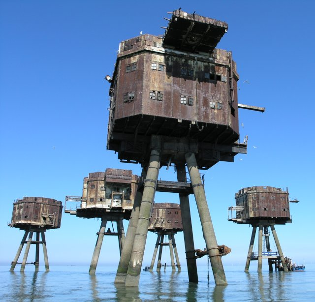 Red Sands Maunsell Towers