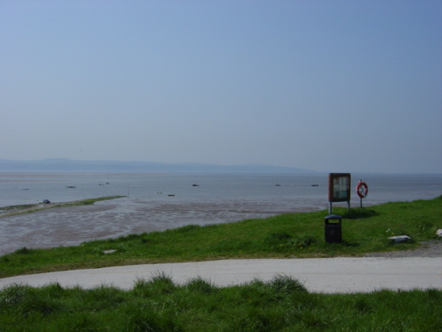Slipway to Causeway near Dee Sailing Club, Caldy