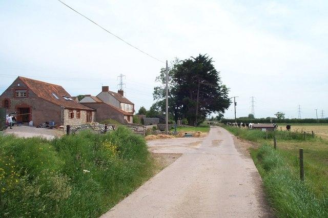 Barn conversions at Moxhill Farm
