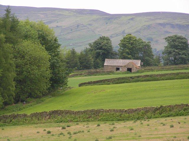 Fields near Hagg Barn