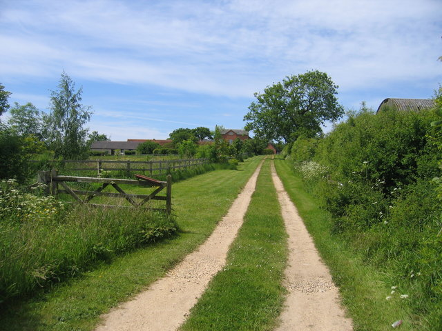 Driveway to Stamford Hall