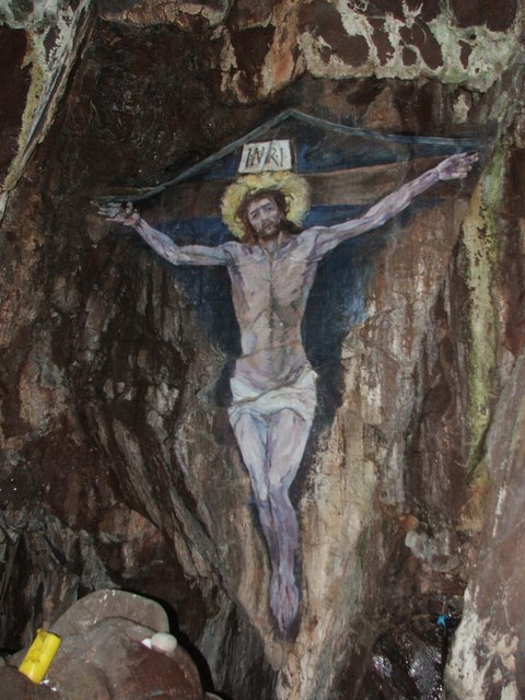 Cave Painting, Island Davaar