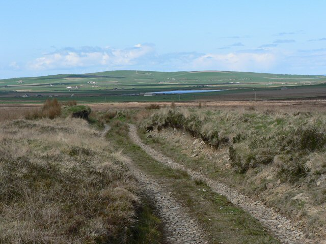 Moorland track, near Wilderness