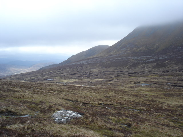 Looking west in Upper Glen Balloch near Newtonmore
