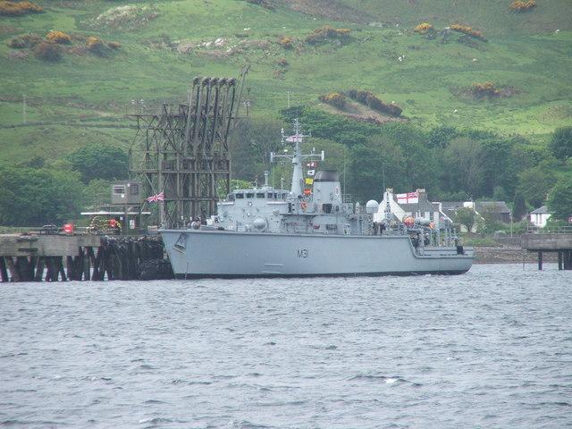 HMS Cattistock, Campeltown Loch.