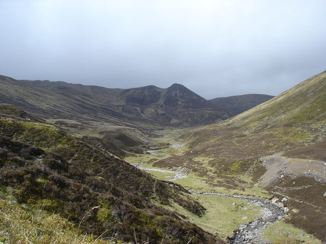 Headwaters of the Allt Fionndrigh