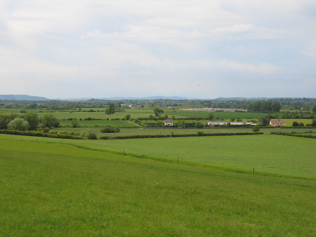 View from Meon Hill