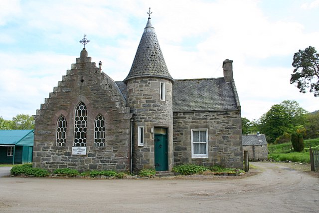 The Lady Macpherson-Grant Hall at Ballindalloch.