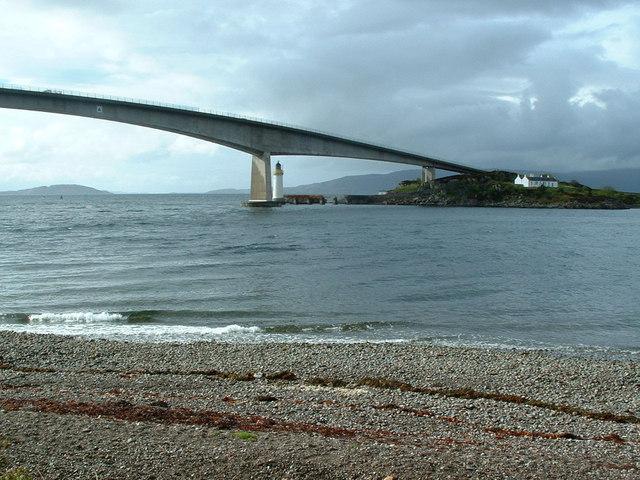 Kyle Akin, the Kyleakin Lighthouse and the Skye Bridge