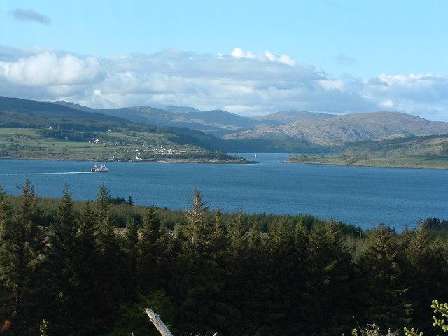 View to Lochaline