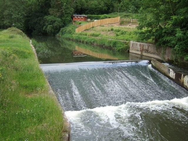 Weir on the River Mole