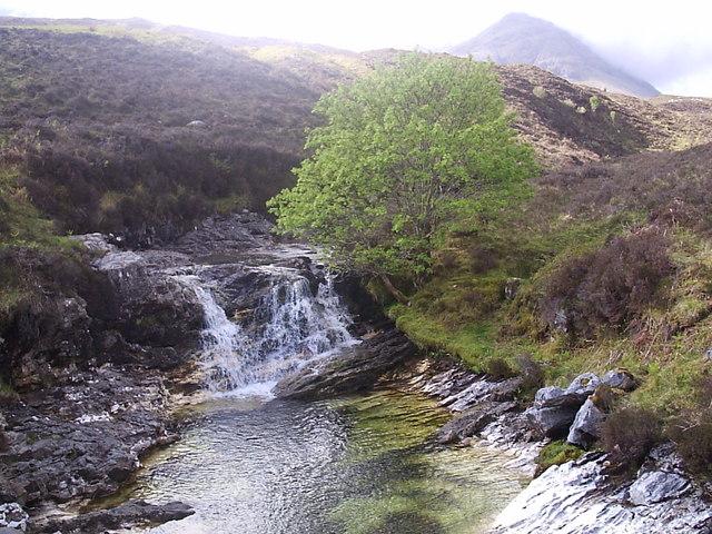 Waterfall, Allt Strollamus
