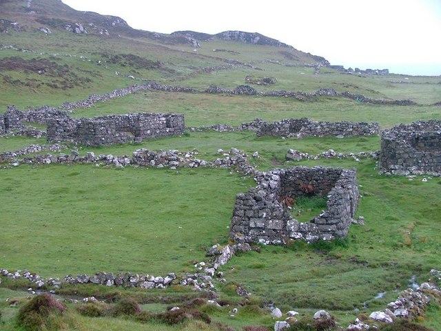 Deserted Village, Allt na Caillich