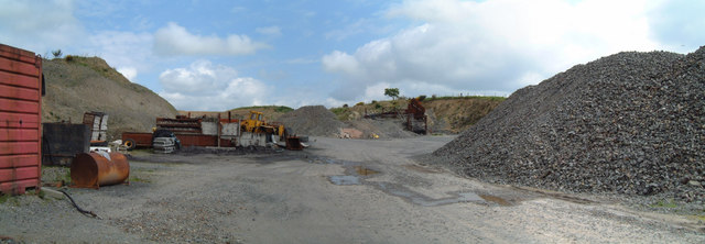 Quarry near Couchercairn