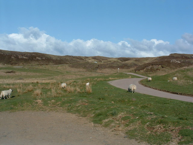 Uphill from Dervaig