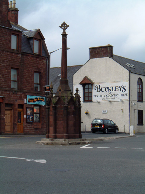 The Mercat Cross in Turriff