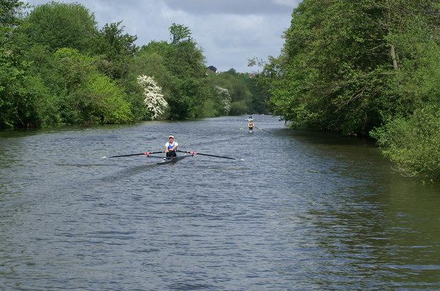 River Avon near Corston