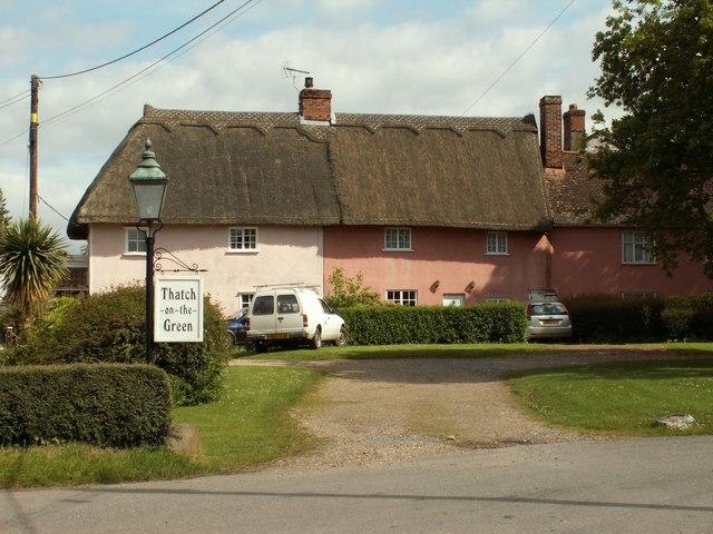 Cottages at Cross Green, Suffolk