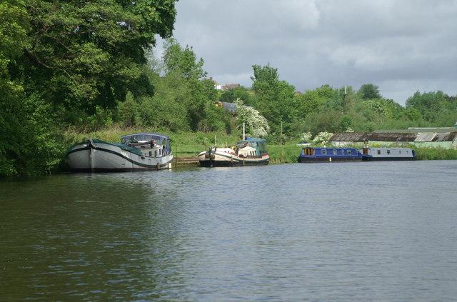 River Avon above Saltford