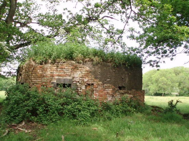 Pill box at Furzy Sleight
